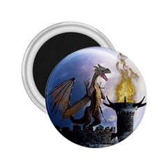 Dragon Land 2 2 25  Button Magnet by gatterwe