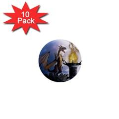 Dragon Land 2 1  Mini Button (10 Pack) by gatterwe