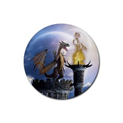 Dragon Land 2 Drink Coasters 4 Pack (round) by gatterwe