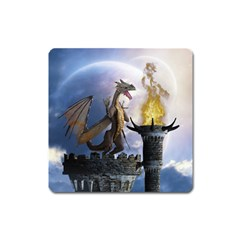 Dragon Land 2 Magnet (square) by gatterwe