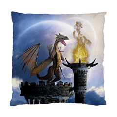 Dragon Land 2 Cushion Case (one Side) by gatterwe