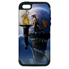 Dragon Land 2 Apple Iphone 5 Hardshell Case (pc+silicone) by gatterwe