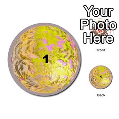 Planets By Bryan Corbett   Multi Purpose Cards (round)   A4pv9v4i9lx6   Www Artscow Com Front 1