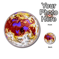Planets By Bryan Corbett   Multi Purpose Cards (round)   A4pv9v4i9lx6   Www Artscow Com Front 6
