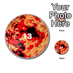 Planets By Bryan Corbett   Multi Purpose Cards (round)   A4pv9v4i9lx6   Www Artscow Com Front 13
