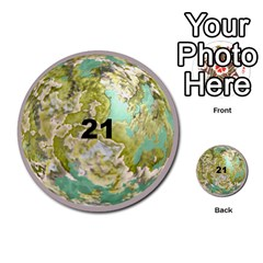 Planets By Bryan Corbett   Multi Purpose Cards (round)   A4pv9v4i9lx6   Www Artscow Com Front 21