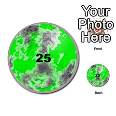 Planets By Bryan Corbett   Multi Purpose Cards (round)   A4pv9v4i9lx6   Www Artscow Com Front 25