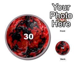Planets By Bryan Corbett   Multi Purpose Cards (round)   A4pv9v4i9lx6   Www Artscow Com Front 30