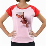 Chihuahua Women s Cap Sleeve T-Shirt (Colored)