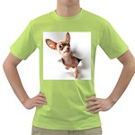 Chihuahua Mens  T-shirt (Green)