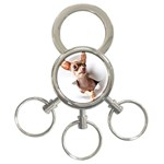 Chihuahua 3-Ring Key Chain