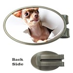 Chihuahua Money Clip (Oval)