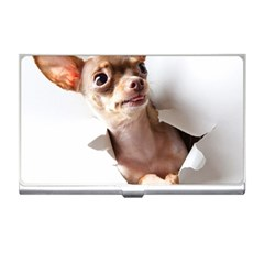 Chihuahua Business Card Holder by cutepetshop