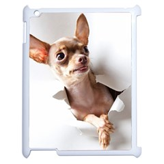 Chihuahua Apple iPad 2 Case (White)