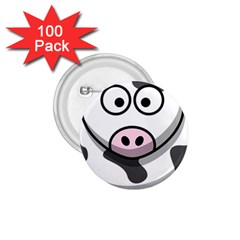 Cow 1 75  Button (100 Pack)
