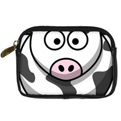Cow Digital Camera Leather Case by cutepetshop