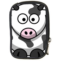 Cow Compact Camera Leather Case by cutepetshop