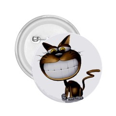Funny Cat 2 25  Button by cutepetshop