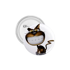 Funny Cat 1 75  Button by cutepetshop