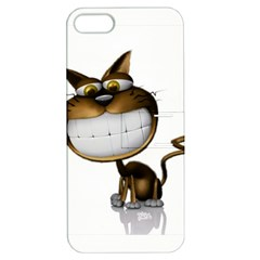Funny Cat Apple Iphone 5 Hardshell Case With Stand by cutepetshop