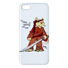 Samurai Cat iPhone 5 Premium Hardshell Case by cutepetshop