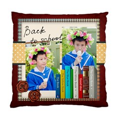 Graduation, School Life By School   Standard Cushion Case (two Sides)   Ccg5cejw9gzl   Www Artscow Com Front