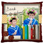 graduation, school life - Large Cushion Case (Two Sides)