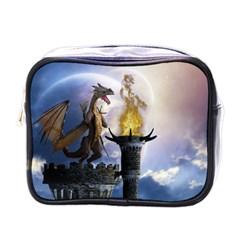 Dragon Land 2 Mini Travel Toiletry Bag (one Side)