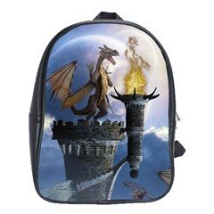 Dragon Land 2 School Bag (xl) by gatterwe