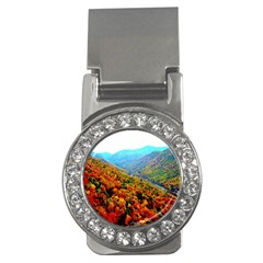 Through The Mountains Money Clip (cz)