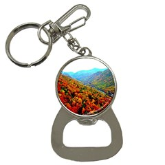 Through The Mountains Bottle Opener Key Chain by Majesticmountain