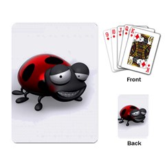 Lady Bird Playing Cards Single Design