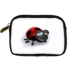 Lady Bird Digital Camera Leather Case by cutepetshop