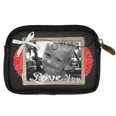 I Love You  By Brookieadkins Yahoo Com   Digital Camera Leather Case   D2ym3wqtlbuz   Www Artscow Com Back