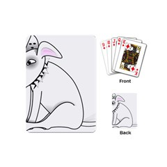 Pitbull Playing Cards (mini)