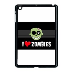I Love Zombies Apple Ipad Mini Case (black) by darksite