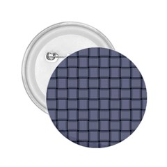 Cool Gray Weave 2 25  Button by BestCustomGiftsForYou