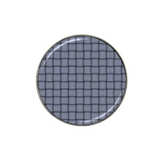 Cool Gray Weave Golf Ball Marker 4 Pack (for Hat Clip) by BestCustomGiftsForYou