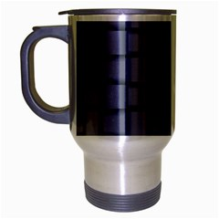 Cool Gray Weave Travel Mug (silver Gray) by BestCustomGiftsForYou