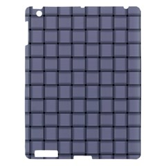 Cool Gray Weave Apple Ipad 3/4 Hardshell Case by BestCustomGiftsForYou