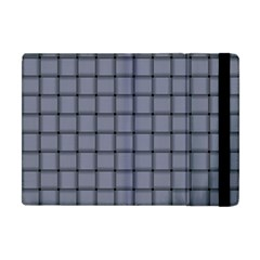 Cool Gray Weave Apple Ipad Mini Flip Case by BestCustomGiftsForYou