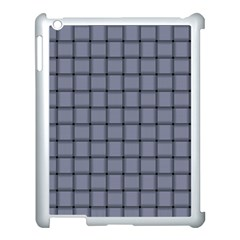 Cool Gray Weave Apple Ipad 3/4 Case (white) by BestCustomGiftsForYou