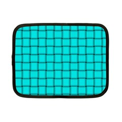 Cyan Weave Netbook Case (small)