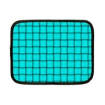 Cyan Weave Netbook Case (Small) Front