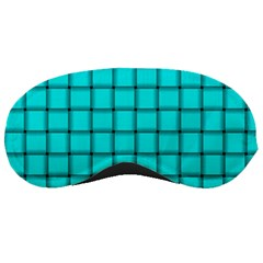 Cyan Weave Sleeping Mask by BestCustomGiftsForYou