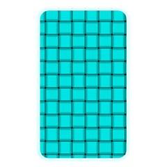 Cyan Weave Memory Card Reader (rectangular)
