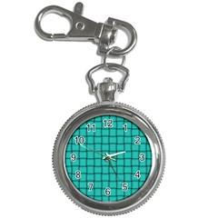 Turquoise Weave Key Chain & Watch by BestCustomGiftsForYou