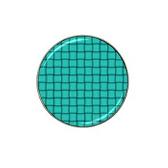 Turquoise Weave Golf Ball Marker 4 Pack (for Hat Clip) by BestCustomGiftsForYou