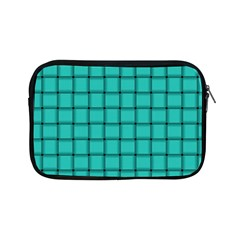 Turquoise Weave Apple Ipad Mini Zipper Case by BestCustomGiftsForYou
