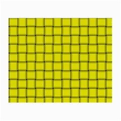 Yellow Weave Glasses Cloth (small, Two Sided) by BestCustomGiftsForYou